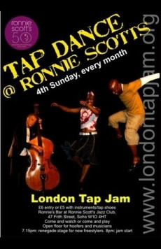 The London Tap Jam (�7 on the door)