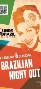 Brazilian Night! (£8 adv, £10 on the door)